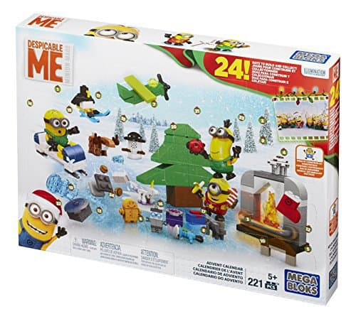 Mattel Mega Bloks CPC57 - Minions Adventskalender