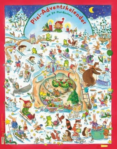Pixi Adventskalender: Wendekalender mit 24 Pixi-Büchern - darunter zwei große Maxi-Pixi! (Ausgabe 2014)