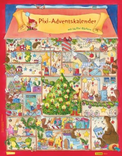 Pixi Adventskalender: Wendekalender mit 24 Pixi-Büchern (Augabe 2013)