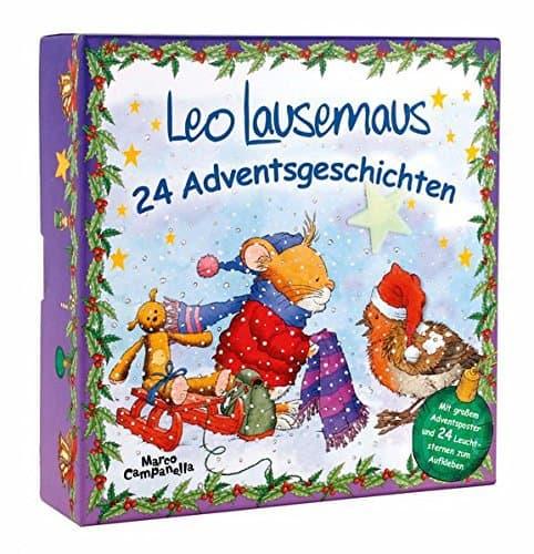Adventsbox - Leo Lausemaus: 24 Adventsgeschichten (Lingoli)