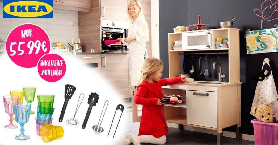 Schnäppchenknaller: IKEA Spielküche DUKTIG nur 55,99 ...