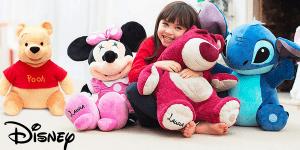 Disneystore: Riesige Kuschelfreunde stark reduziert + gratis Personalisierung