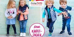 Ernsting's family: Neue Kindersachen mit Minnie und Mickey