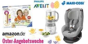 Amazon Oster-Angebotswoche – mit Philips Avent, Cybex, Kidkraft, Spiele uvm.