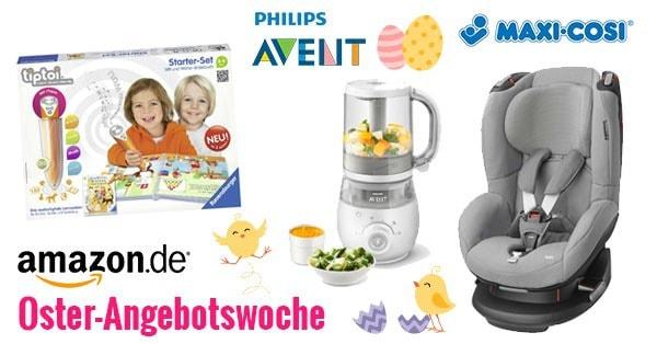 Amazon Oster-Angebotswoche - mit Philips Avent, Cybex, Kidkraft, Spiele uvm.