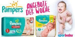 Pampers Angebote der Woche & Gutscheine