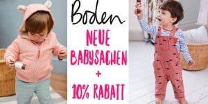 Boden: Neue Babykollektion und 10% Rabatt