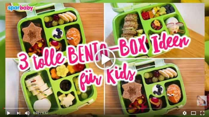 NEU: 3 tolle Bento Box Ideen für Kids | Frühstück und Snacks für Kita oder Schule