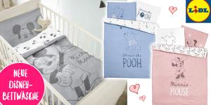 NEU bei LIDL: Viele süße DISNEY Babysachen und Disney Bettwäsche für 9,99€