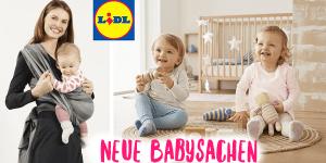 Lidl: Neue niedliche Babysachen schon ab Gr. 50!