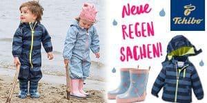 NEU bei Tchibo: Softshell- und Regensachen für Jungs und Mädchen!