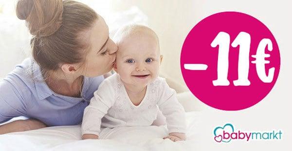 Babymarkt: 11€ Rabatt auf alles*