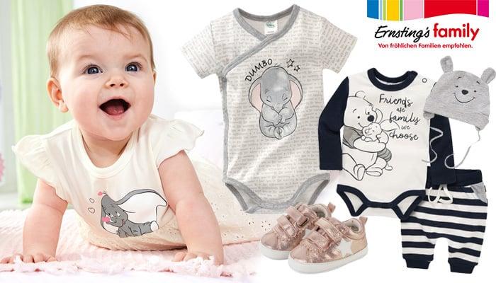 NEU bei Ernsting's family: mega süße neue Babysachen, neue Disney-Kollektion + Verlosung!