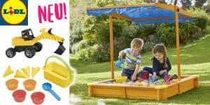 NEU bei LIDL: Viele tolle Spielsachen, Sandkästen und Outdoor-Spielzeug