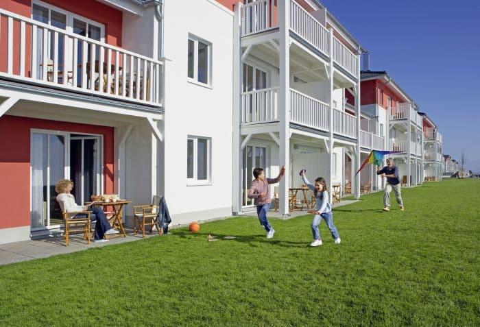 Terrasse im Dorfhotel Boltenhagen
