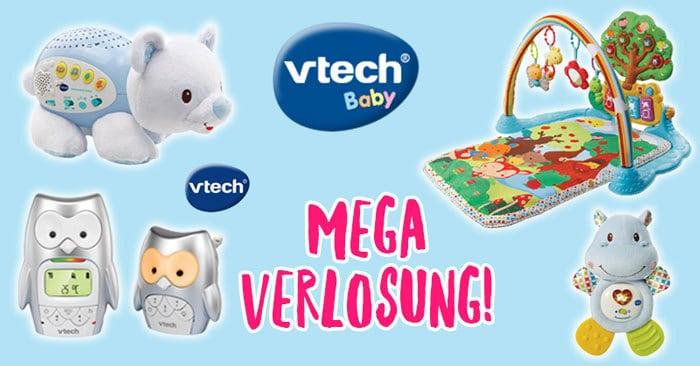 Lernspielzeuge für dein Baby - Gewinne eines von 5 großen Erstausstattungssets von VTech!