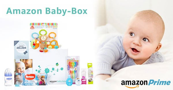 Amazon: limitierte GRATIS Baby-Box für Eltern