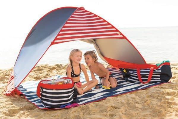 Die besten Strandmuscheln im Test - Sonnenschutz für die ganze Familie