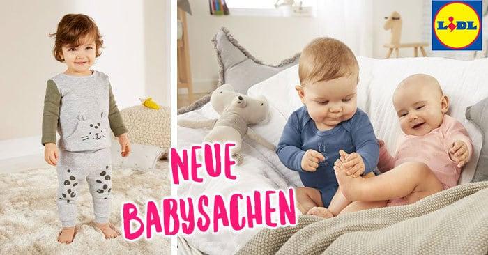 NEU bei LIDL: Viele süße Babysachen, Spielzeug und Babyausstattung