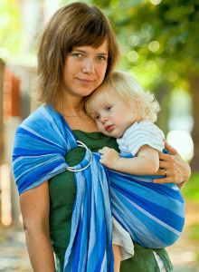 Storchenwiege Ring Sling