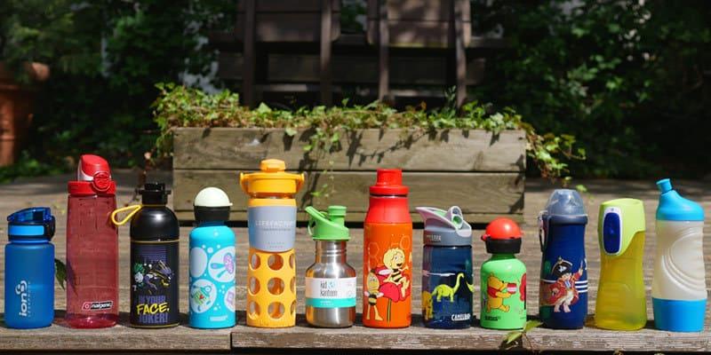Trinkflaschen für Kinder im Test