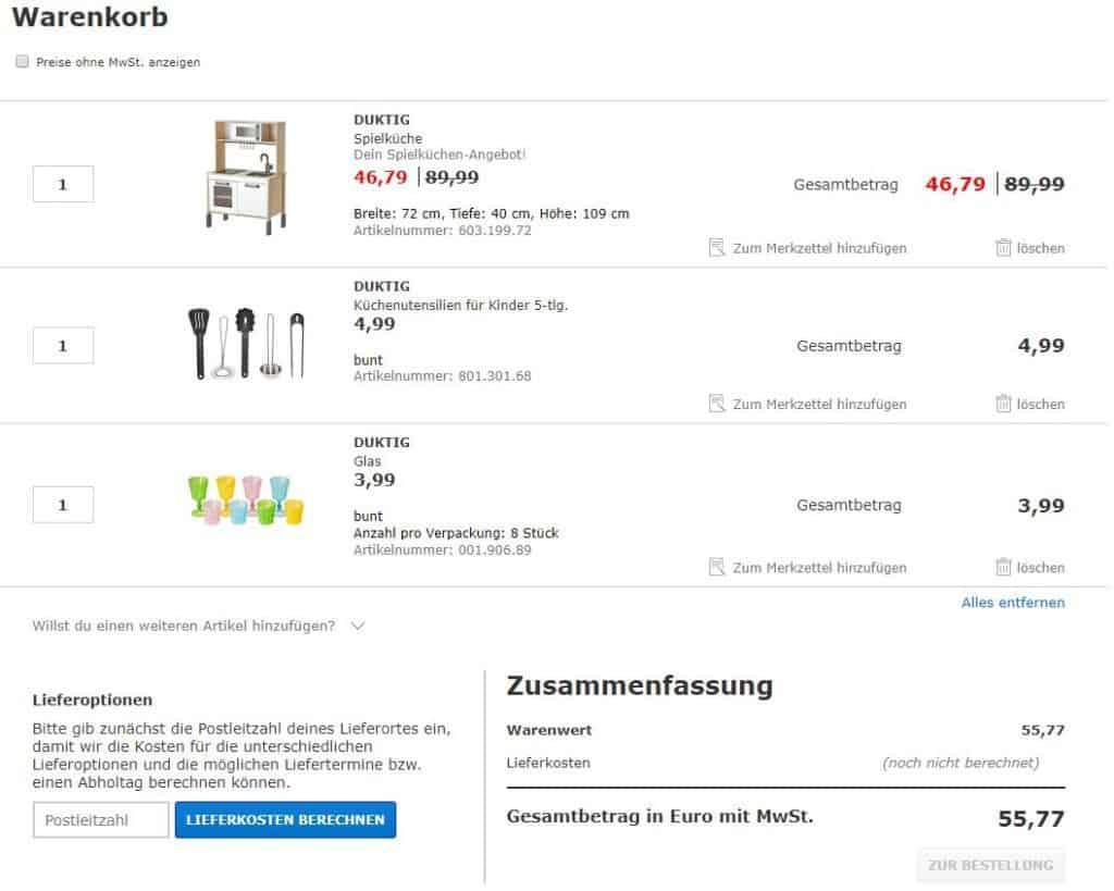 Awesome Im Letzten Schritt Könnt Ihr Euer Ikea Family Nummer Eingeben Und Die  Bestellung Abschließen. Duktig Küche Ikea