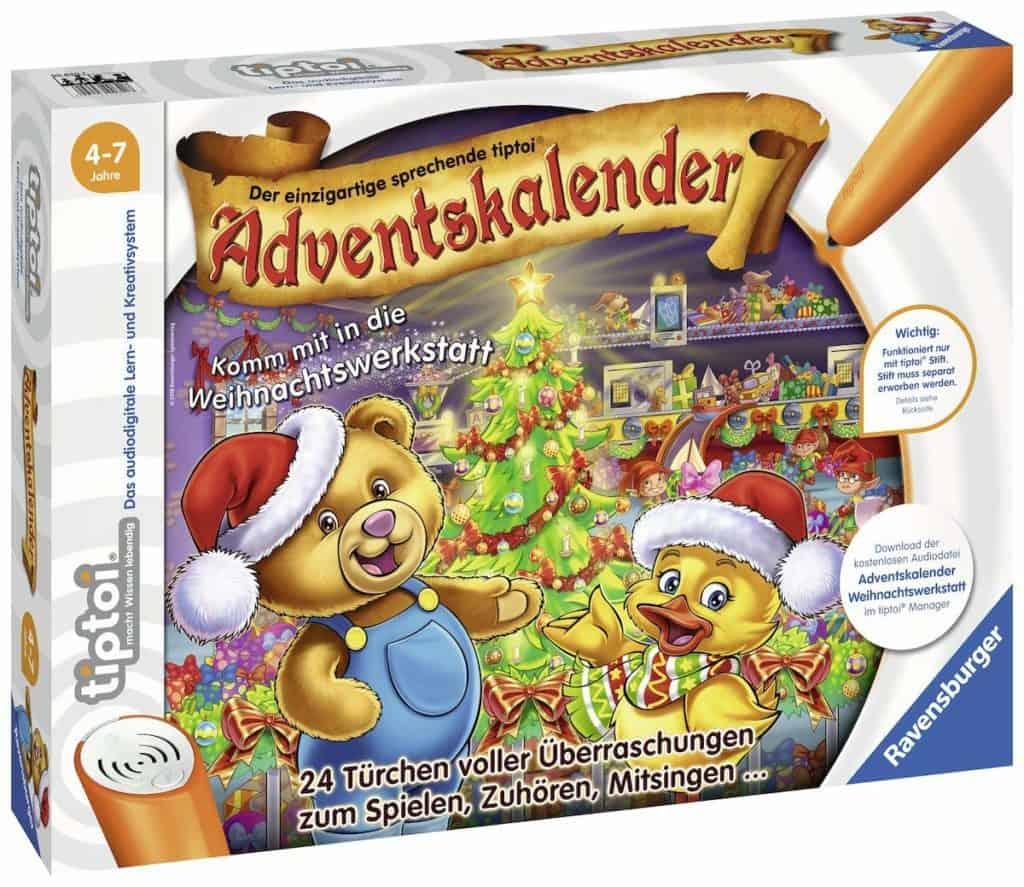 Ravensburger tiptoi Adventskalender 2018