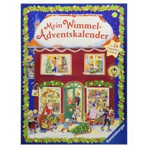 Ravensburger Wimmel-Adventskalender: Mit 24 Bilderbüchern