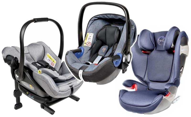 Kindersitze im Test 2018 - Joie i-Level, Britax Römer Baby-Safe2 i-Size + i-Size Flex Base und Cybex Solution S-Fix gehören zu den Testsiegern