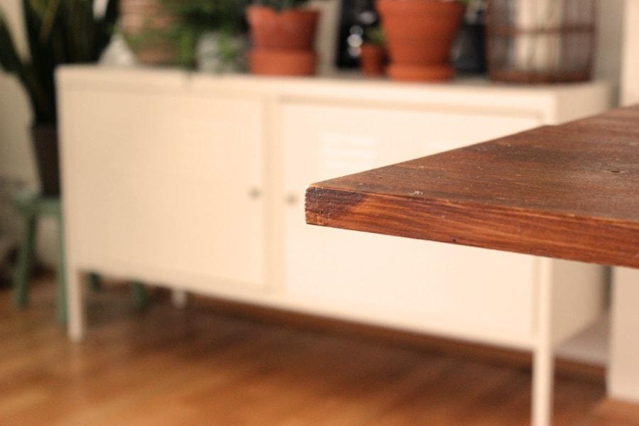 Tisch Wohnung Kantenschutz
