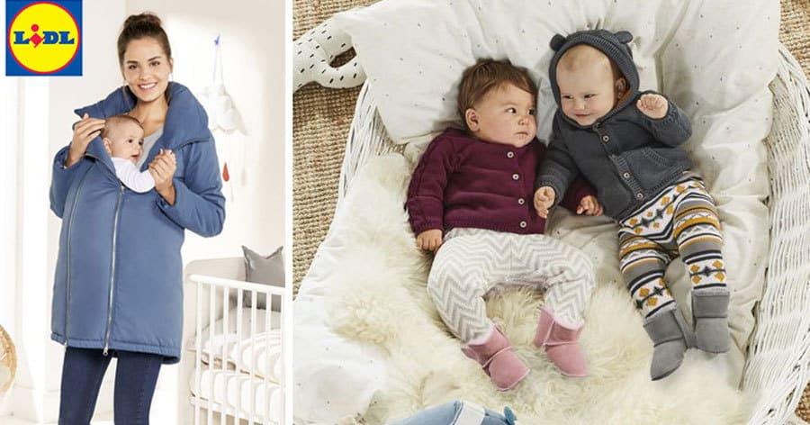 983056fcc63bee NEU bei LIDL  Viele süße neue Babysachen + Umstandsjacke für Mama ...