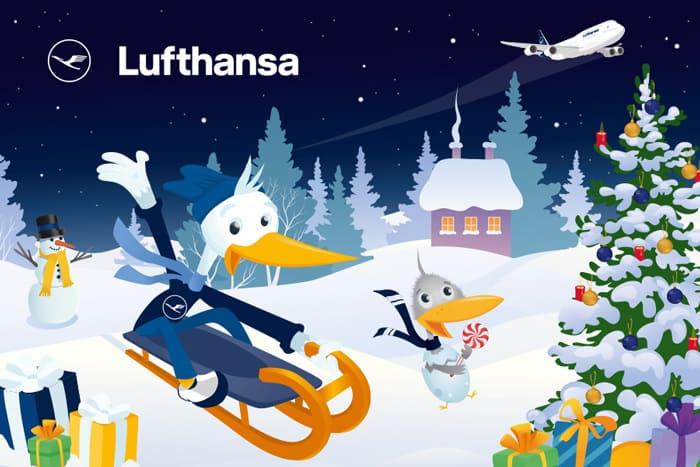 Der Lufthansa Adventskalender öffnet seine Türchen!