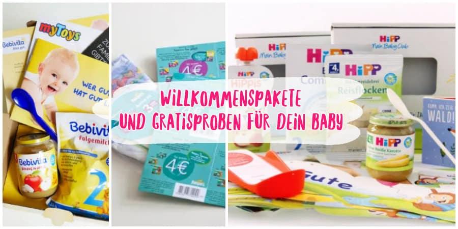 Willkommenspakete Und Gratisproben Fur Dein Baby Sparbaby De