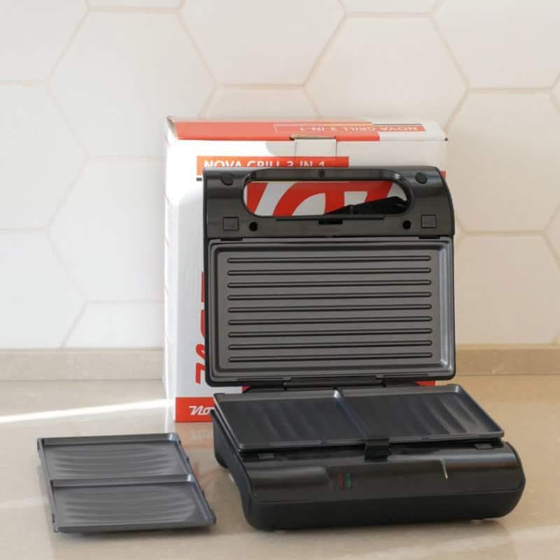 Nova 02 Compact Pro Sandwich-Grill