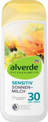Alverde Sensitiv Sonnenmilch LSF30